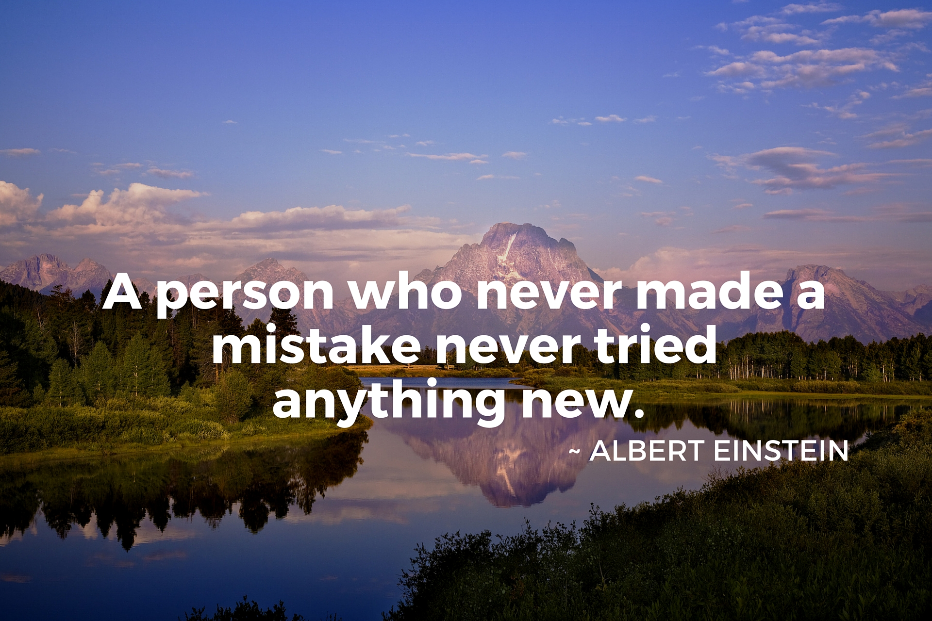 Inspirational Quote Albert Einstein